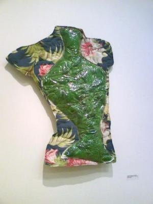 Anna Shapiro - Torso (Feathers and Floral)