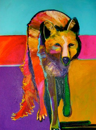 Malcom Furlow: Coyote In Providence - @ The Gallery at 17 Peck