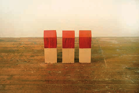 "Nathaniel Allen: ""Three Over Three"", Mixed-media"