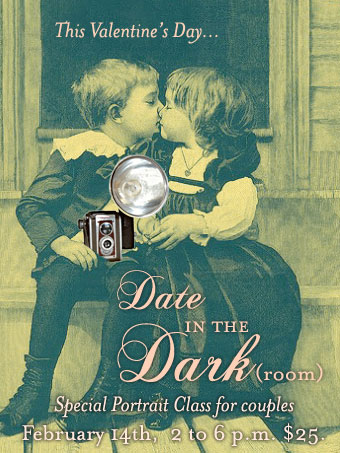 AS220 Date in the Dark(room) - Valentine's Day photo offer