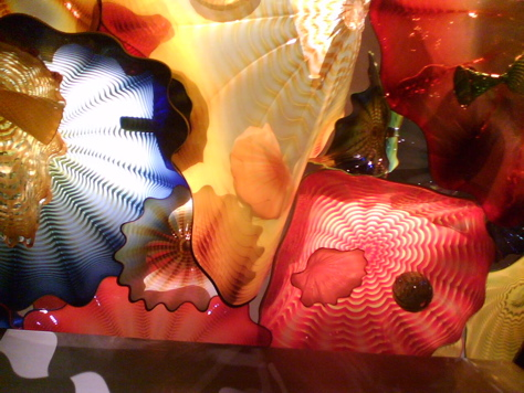 "Chihuly at RISD: ""Persian Ceiling"" (detail) 2008"