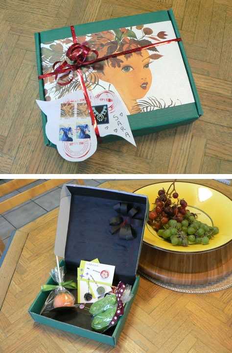 Upcycled Gift Box: DIY by meredith cutler, studio debris