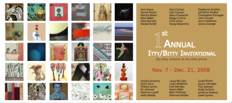 1st Annual Itty Bitty Invitational at YES Gallery + Studio