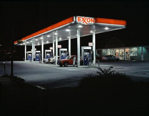 """Exxon #1 from Route 66"" by Greg Kordas, RISD MFA Photography '08"