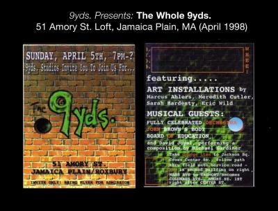 "The ""Whole"" 9yds. Show Flyer"